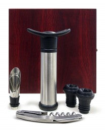 Epicureanist 4 Piece Wine Essentials Gift Set by Vinotemp, Wine acc., Vinotemp - The Luxury Man Cave