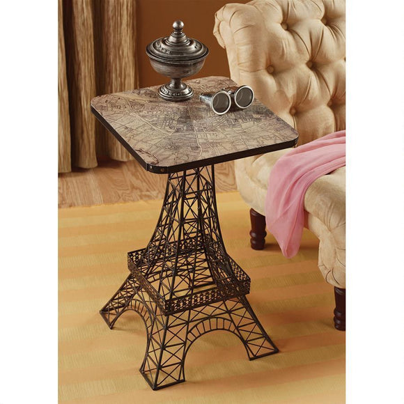 Tour Eiffel Sculptural Metal Side Table by Design Toscano, End Tables, Design Toscano - The Luxury Man Cave