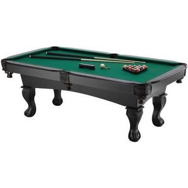 Fat Cat 7 Foot Kansas Billiards Table with Ball and Claw Legs, Pool Table, GLD Products - The Luxury Man Cave