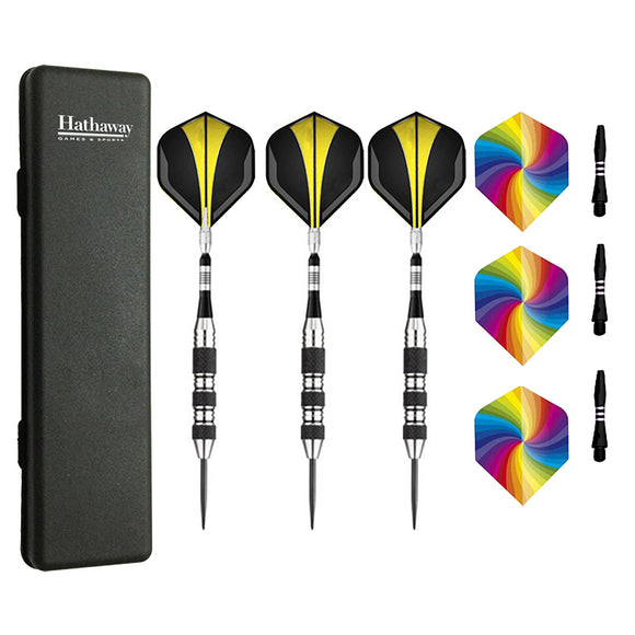 The Tempest Steel Tip Darts - Set of 3 by Carmelli, Gaming acc, Carmelli - The Luxury Man Cave