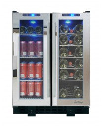 VT-36 Touch Screen Mirrored Wine & Beverage Cooler by Vinotemp, Wine Cooler, Vinotemp - The Luxury Man Cave