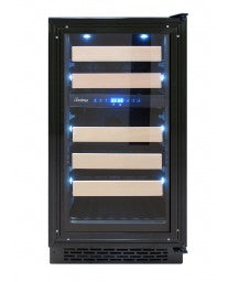 24-Inch Panel-Ready Wine Cooler by Vinotemp, Wine Cooler, Vinotemp - The Luxury Man Cave