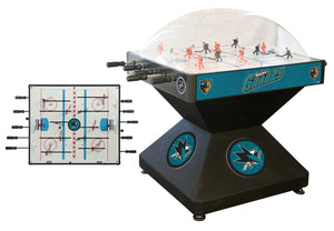 San Jose Sharks Dome Hockey (Deluxe) Game by Holland Bar Stool Company