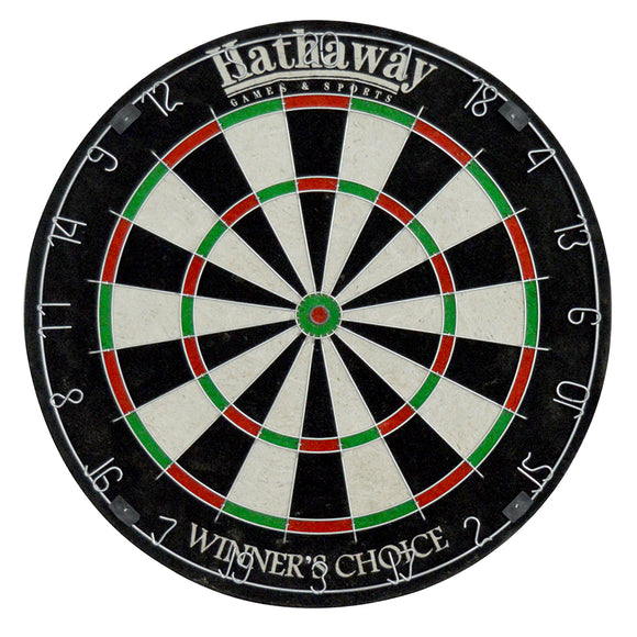 Winners Choice 18-in Sisal Dart Board by Hathaway, Dartboard, Carmelli - The Luxury Man Cave