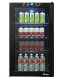VT-34 Touch Screen Beverage Cooler by Vinotemp, Beverage Refrigerator, Vinotemp - The Luxury Man Cave