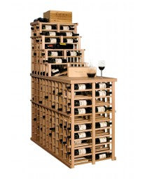 Apex 6' Waterfall Modular Wine Rack, Wine Rack, Vinotemp - The Luxury Man Cave