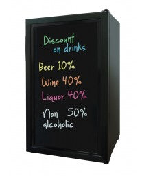 Beverage Cooler with Writing Board Door by Vinotemp, Beverage Refrigerator, Vinotemp - The Luxury Man Cave