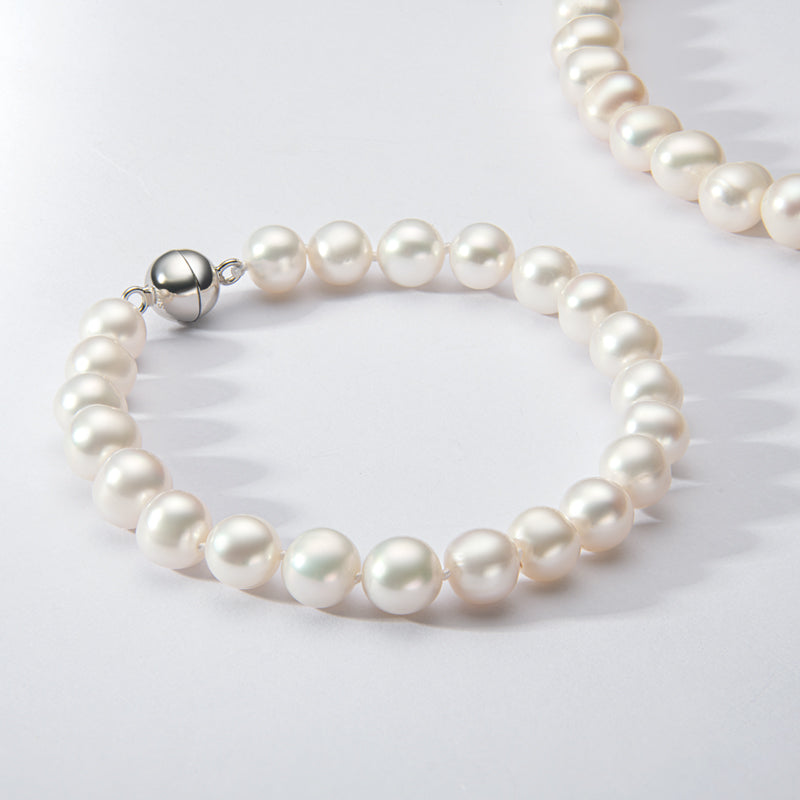 Natural Cultured Freshwater Pearl Bracelet