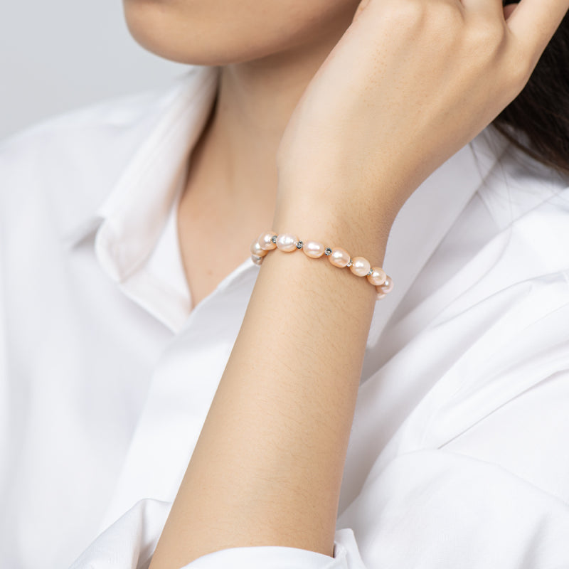 Adjustable Freshwater Cultured Pearl Bracelet