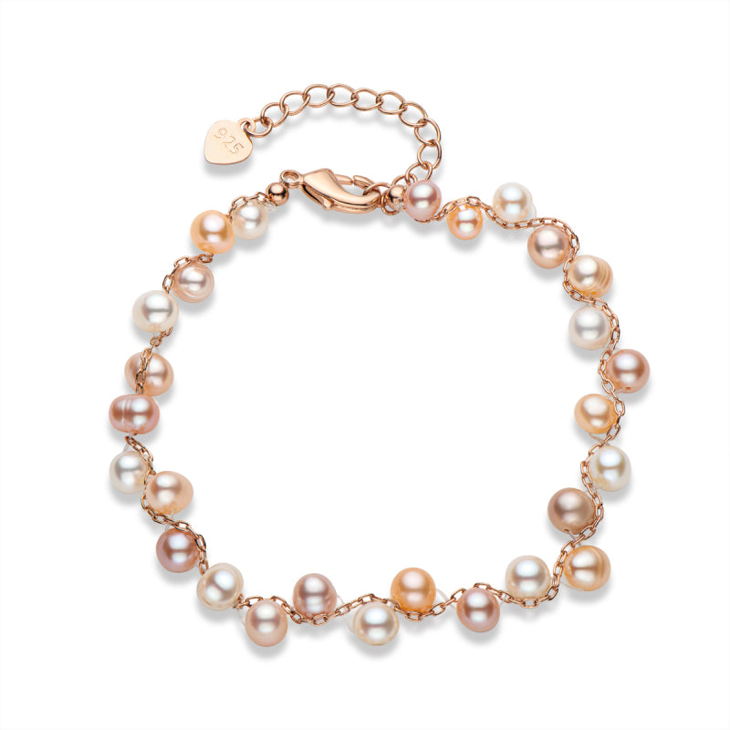 Cultured Freshwater Pearl Bracelet Adjustable
