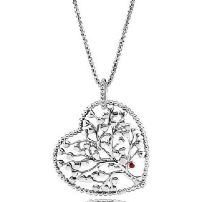"""Tree of Life"" 925 Silver Classic All-match Necklace"