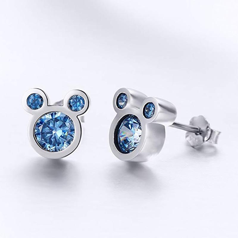 Mouse Shape Stud Earrings Hypoallergenic Cute Stud Earrings for Women