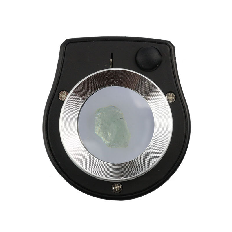 Cloth Mirror With Led Lamp Money Detector Lamp Cylindrical Scale Magnifier