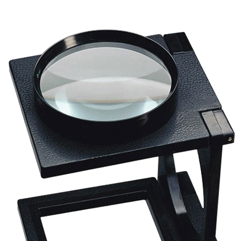 Large Three-folding Plastic Reading Magnifier With Scale