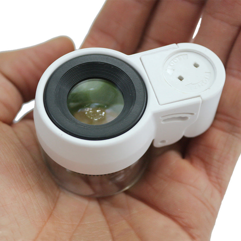 High Magnification Magnification 30 Times Barrel Magnifier Clear Appreciation Of Jewelry