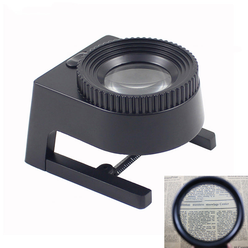 High Magnification Magnifier Cloth Mirror Magnifierwith With Scale
