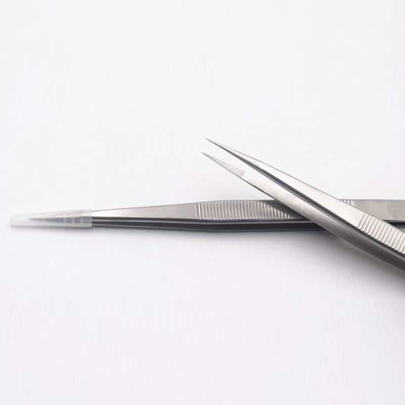 Fine Point Locking Diamond Tweezers