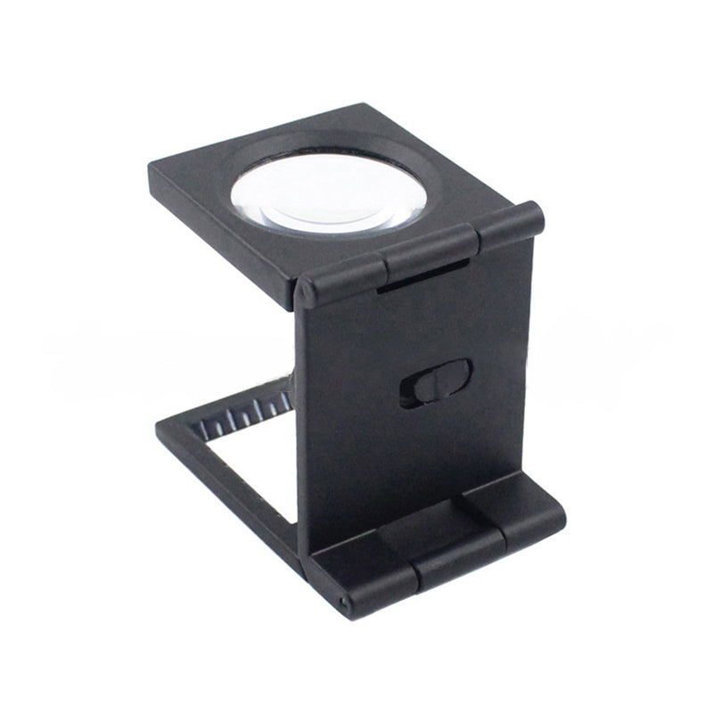 Microscope Folding Magnifier Stand Loupe with Scale