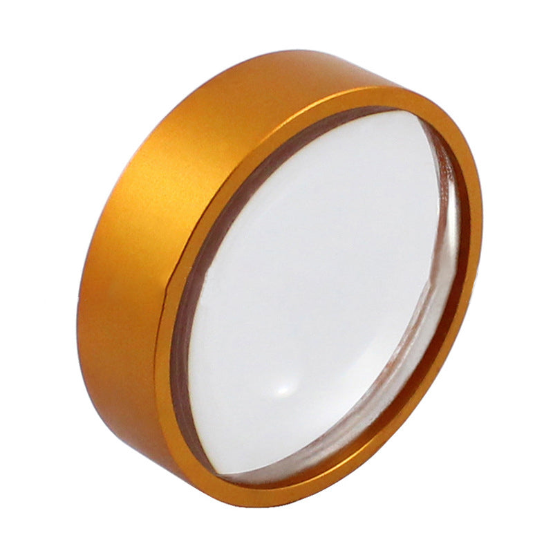Mini Mirror Round Glass Magnifier