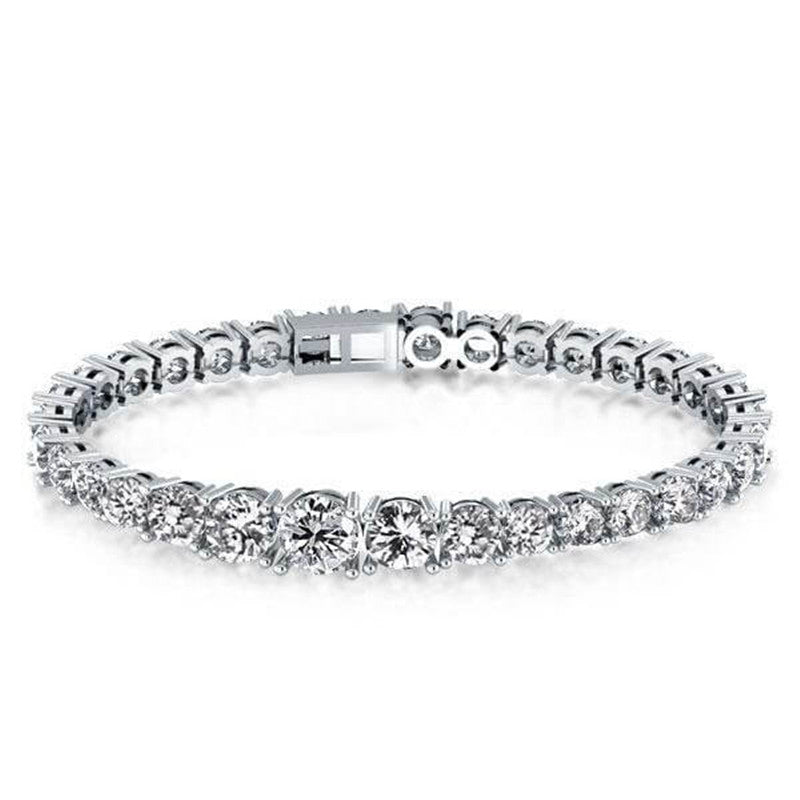 Classic Created White Diamond Tennis Bracelet