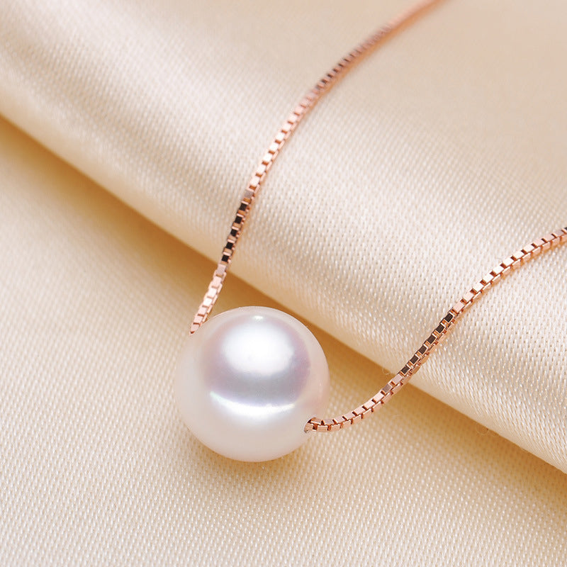 Genuine Freshwater Cultured Pearl Pendant Necklace