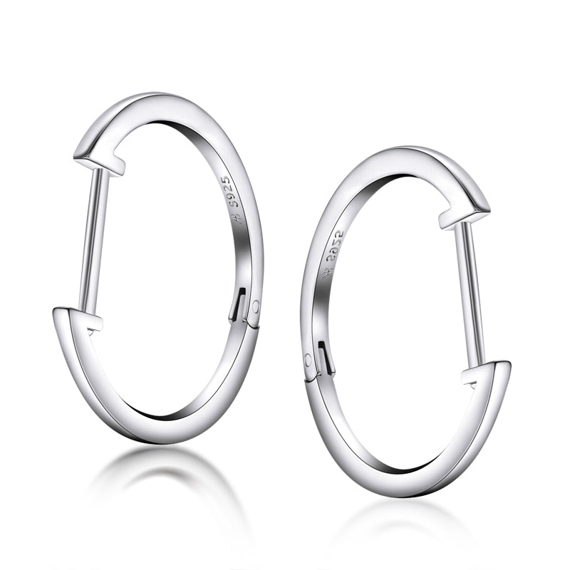 Plain Circle Hoop Earring