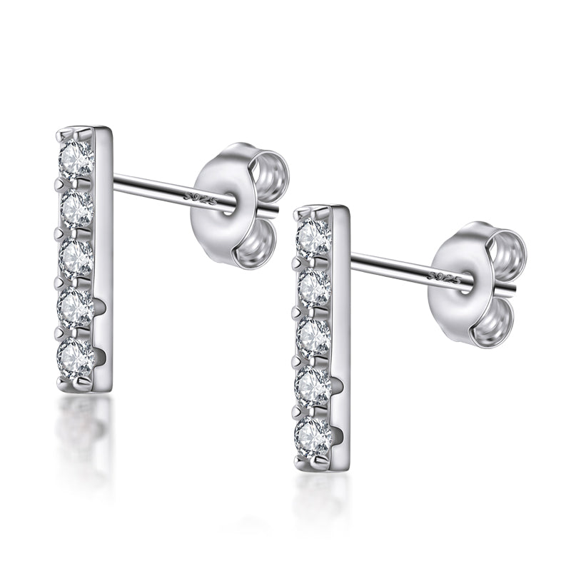 Fashion Line Simple Stud Earring