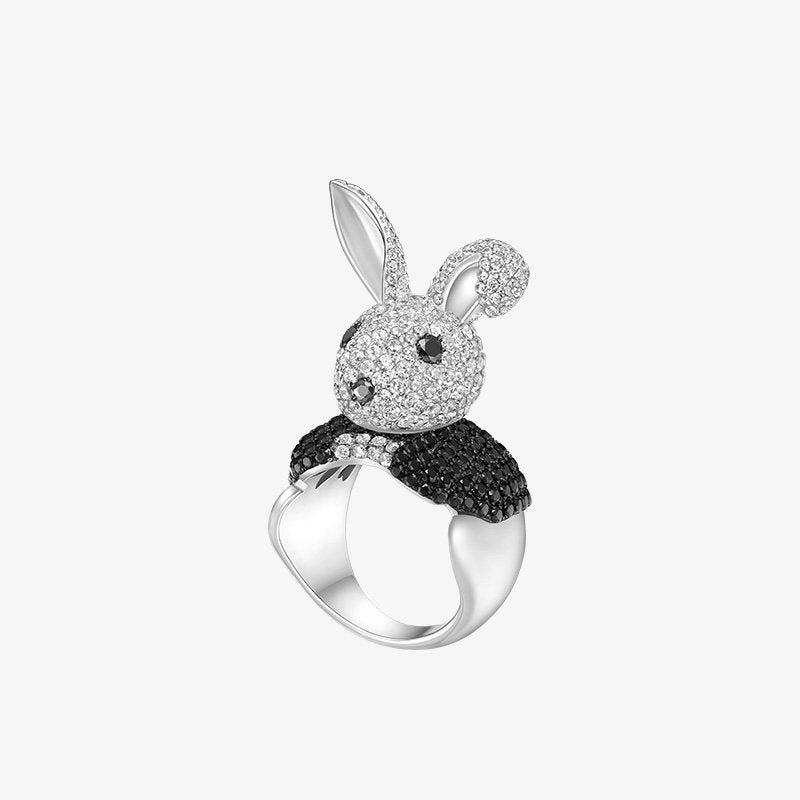 Sterling Silver Mr. Rabbit Ring