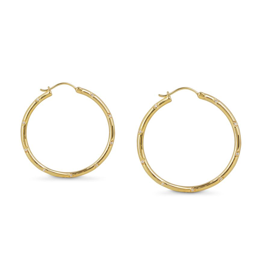 COSMOS LARGE HOOPS