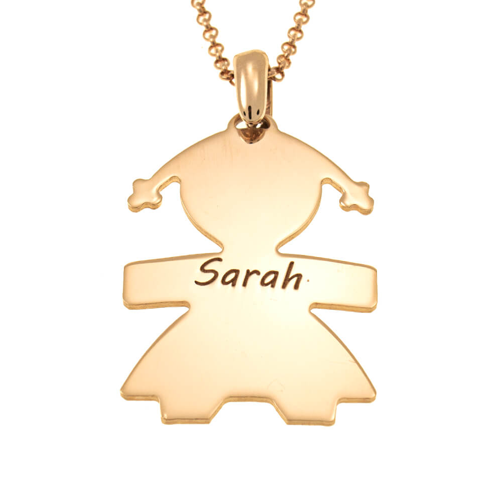 Girl Name Necklace