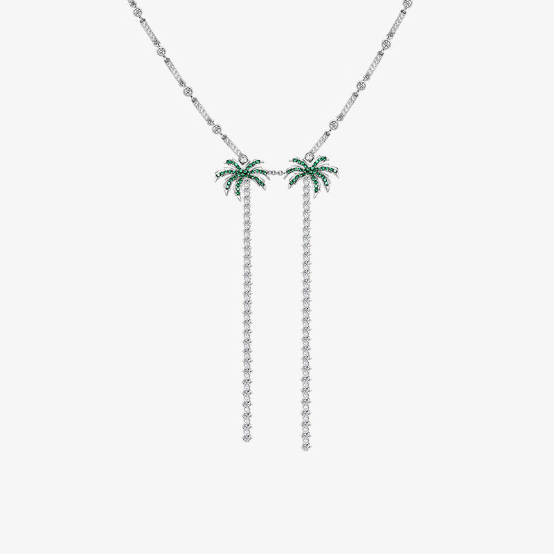 Sterling Silver Coconut Pendant Necklace