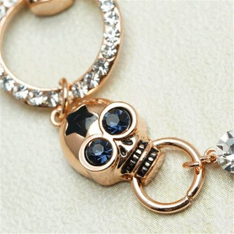 Skull Design Bracelet For Men And Women