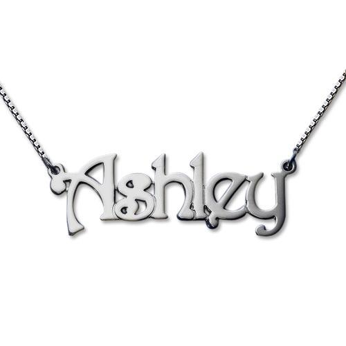 18K Gold Plated Name Necklace Personalized Gift for Women