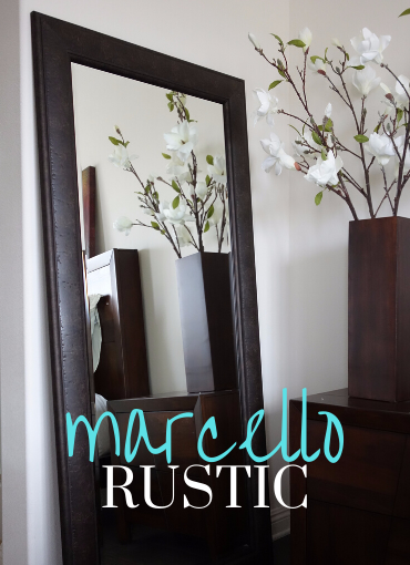 Marcello Floor Leaner Mirror