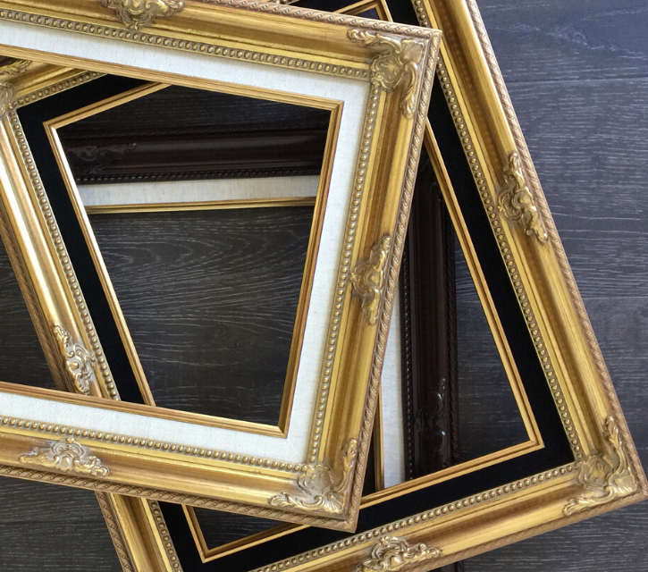 French Baroque Picture Frames