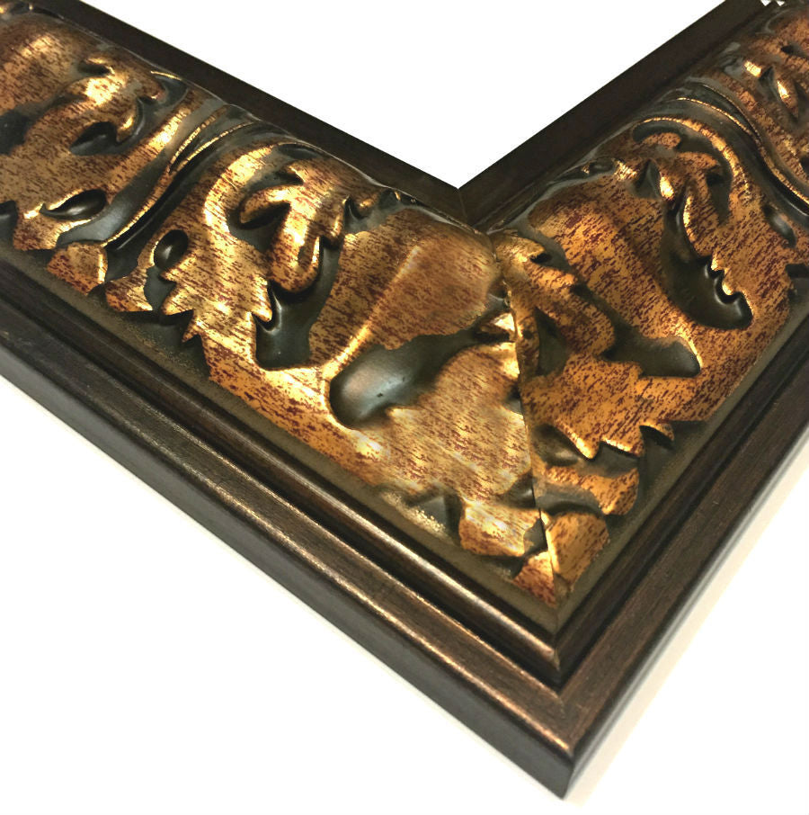 Naples Antique Dark Gold Picture Frame - West Frames