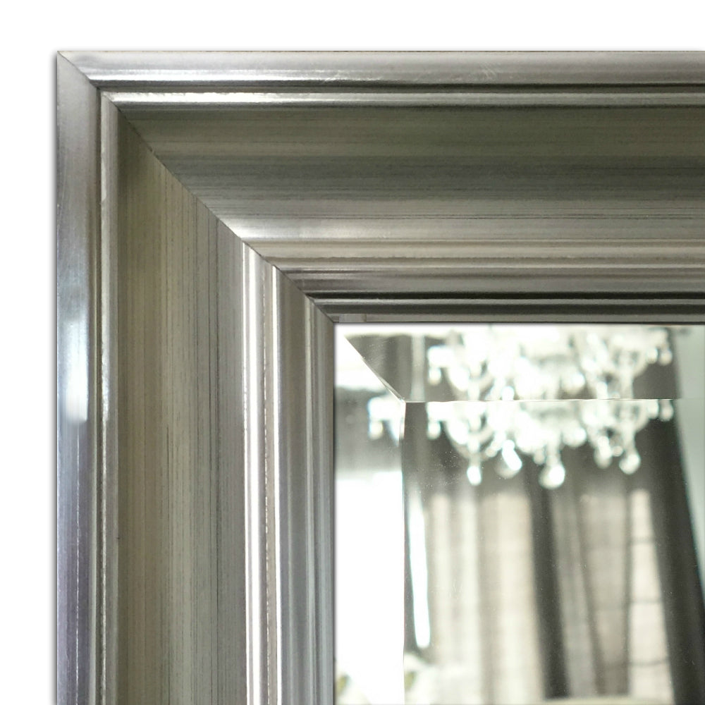 Paris Rectangle Decorative Wood Frame Wall Mirror - West Frames