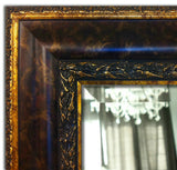 Windsor Ornate Scroll Rectangle Framed Wall Mirror