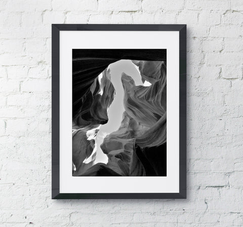 The Bird Antelope Canyon, Arizona Framed Photo Wall Art