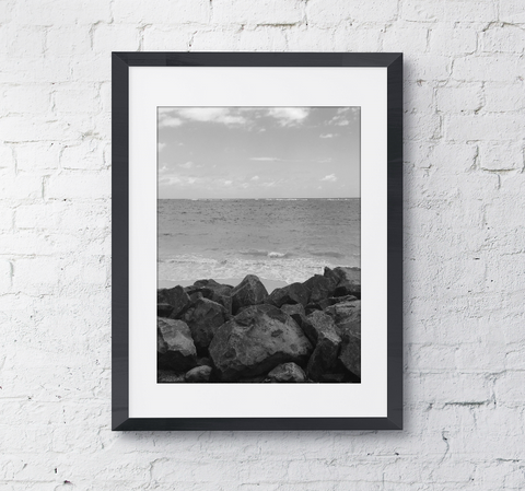The View, Oahu, Hawaii Photography Framed Art