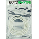4mm Glass Pearl Beads