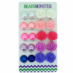 Clip-on Earrings for Kids Teenage Girls Women