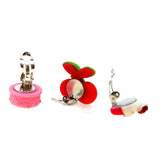 Clip On Earrings for Little Teen Girls Kids Daughter Gift for Her Set, Mix Style