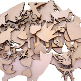 "Custom Wood Shape Cut Out by Laser Cut, Unfinished Wooden Blank Art Craft Supplies for DIY Project, Ready to Paint and Stain, Size 1"" to 15"""