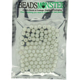 Glass Pearl Pearlescent Beads 8mm Round 1mm Hole, 100pcs, 36 Colors available