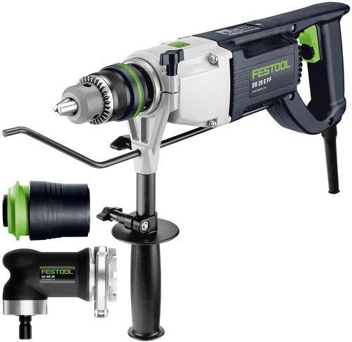 Festool Borrmaskin DR 20 E FF-Set QUADRILL
