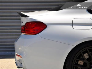 F82 M4 M performance style CF trunk spoiler