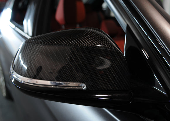 BMW REPLACEMENT CARBON MIRROR COVERS - E84 X1 | F20 | F22  | F30  | F32/ F36 | F87 M2