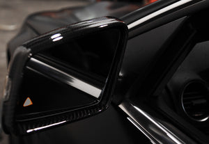 Mercedes Replacement Carbon Fiber Mirror Cover
