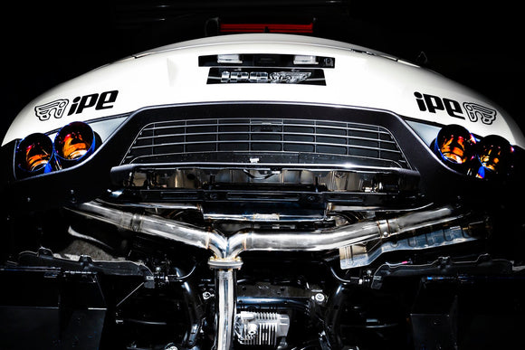 iPE | Nissan GTR R35 Stainless Steel Exhaust